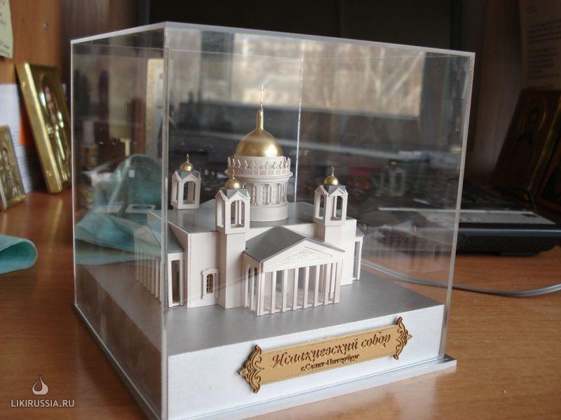 Сделать макет собора своими руками