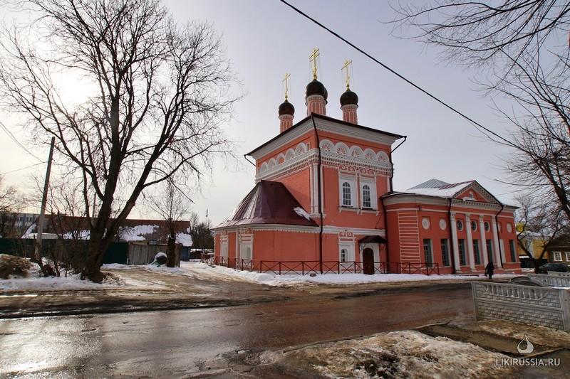 Церковь георгия победоносца в калуге