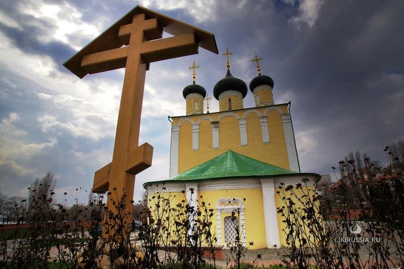 Успенский Адмиралтейский храм в Воронеже