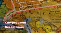 Ангел над Россией. Крестный облет. Симферополь