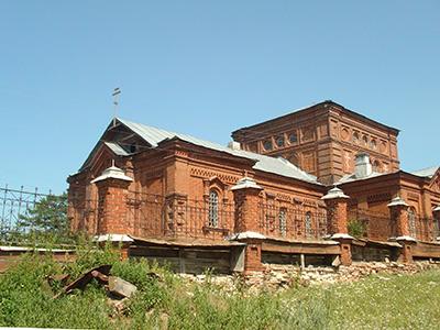 Никольская церковь. Кага