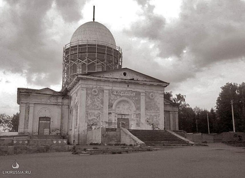троицкий храм в Бирске. 2010 год