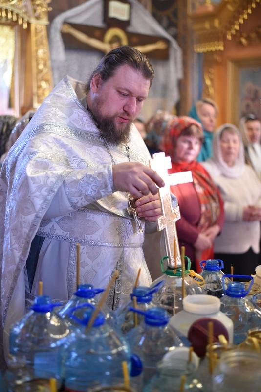 Крещение. Отец Сергий Гречушкин
