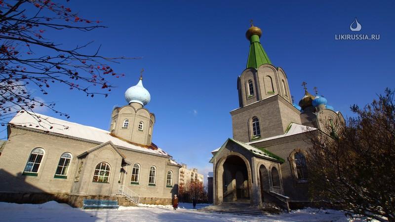 Никольский храм. Мурманск