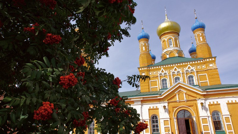 Храм  вмч. Дмитрия Солунского (г. Оренбург)