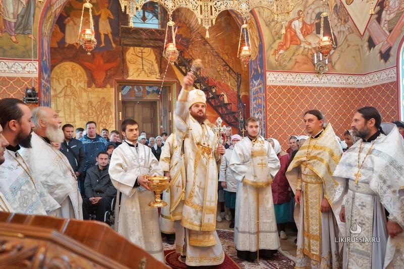 Освящение храма в Дияшево