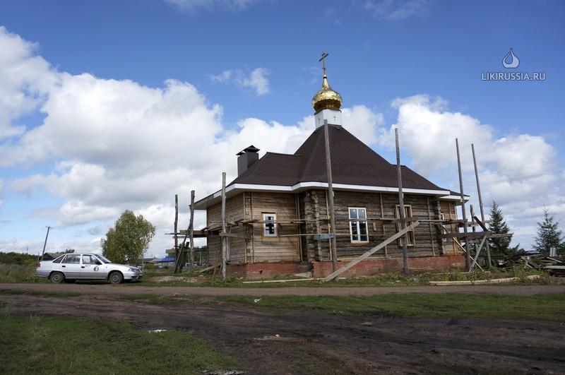 Никольская церковь в с.Печенкино