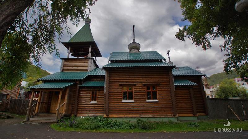 Храм Александра Невского. Петропавловск-Камчатский