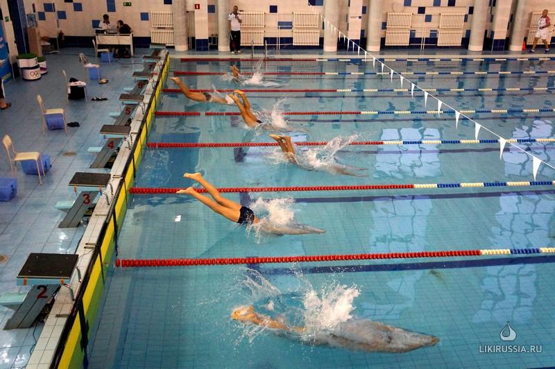 Турнир Таяновича по плаванию среди детей-инвалидов