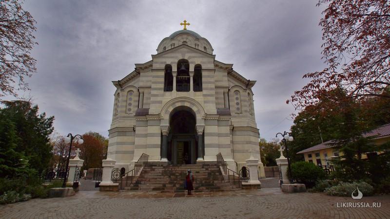 Владимирский   собор, усыпальница адмиралов (г. Севастополь.Крым)