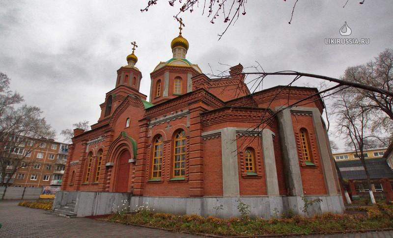 Храм во имя равноапостольных Кирилла и Мефодия